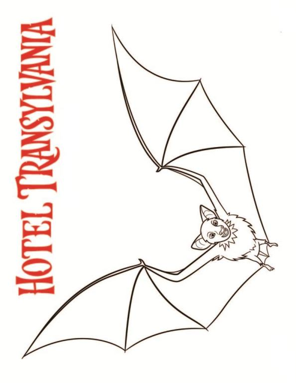 n 22 coloring pages of hotel transylvania