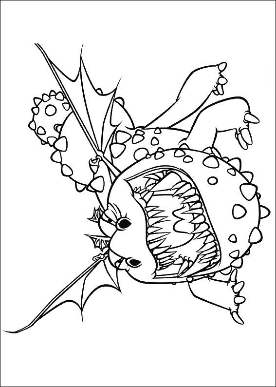 how to train your dragon - How To Train Your Dragon Coloring Pages