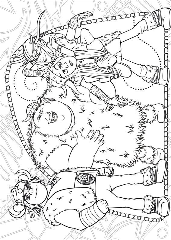 18 how to train your dragon coloring pages