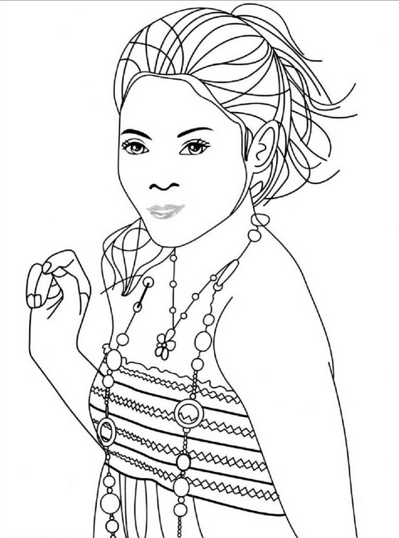 high school printable coloring pages - photo#3