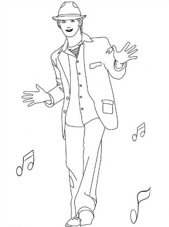 high school printable coloring pages - photo#17