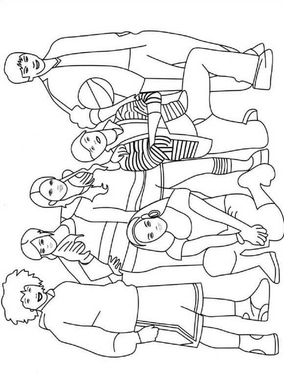 high school printable coloring pages - photo#22