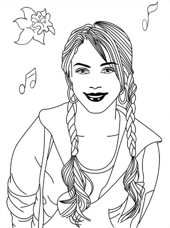 high scholl musical coloring pages - photo#8
