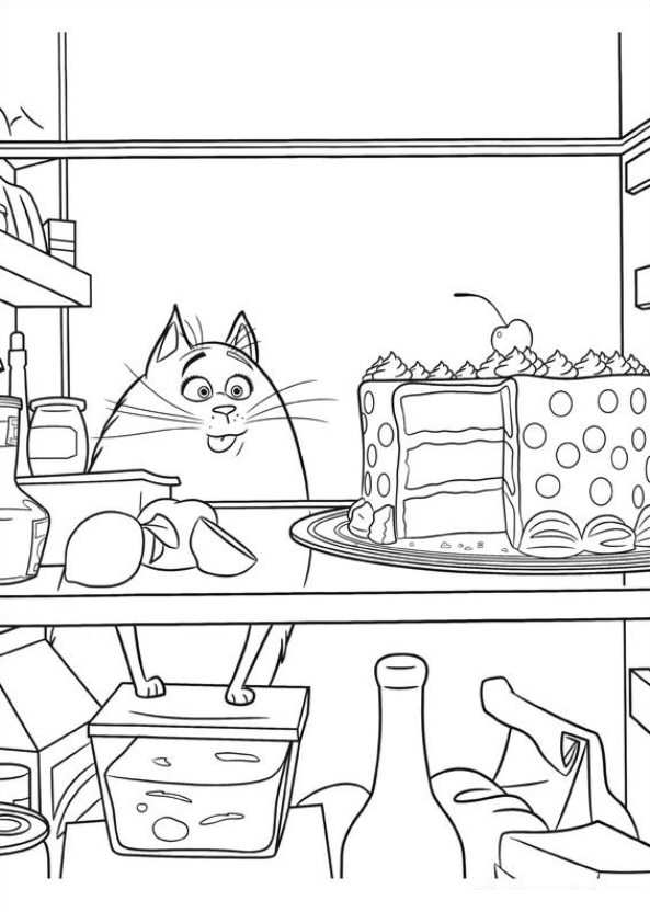 Kids n funcom 29 coloring pages of Secret Life of Pets