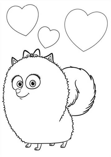 Kids N Fun Com 29 Coloring Pages Of Secret Life Of Pets