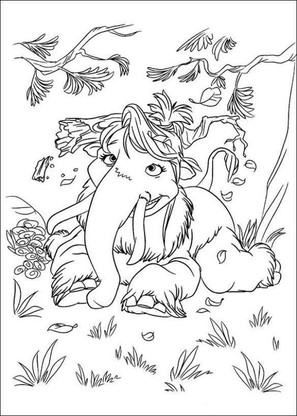 Kleurplaten Iceage.Kids N Fun Co Uk Coloring Page Ice Age 4 Continental Drift