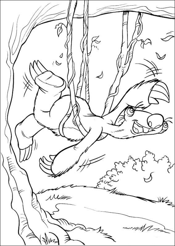 Kids-n-fun.com | 34 coloring pages of Ice Age 2