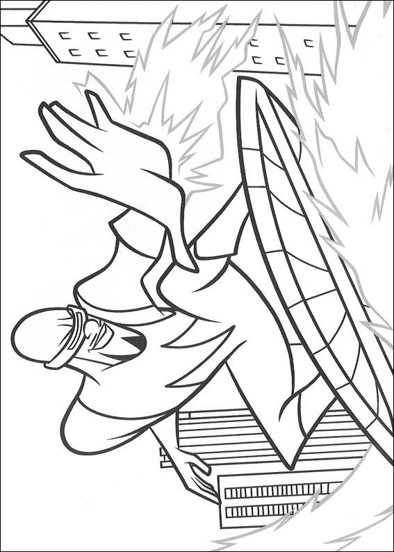 62 incredibles coloring pages - Incredibles Coloring Page