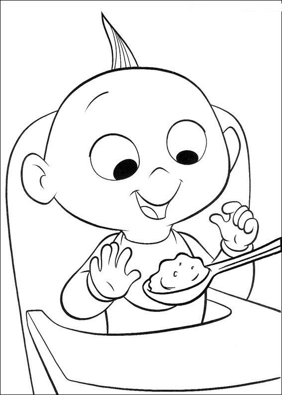 Kids-n-fun.com | 62 coloring pages of Incredibles