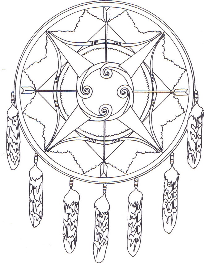 14 native americans coloring pages - Native American Coloring Pages