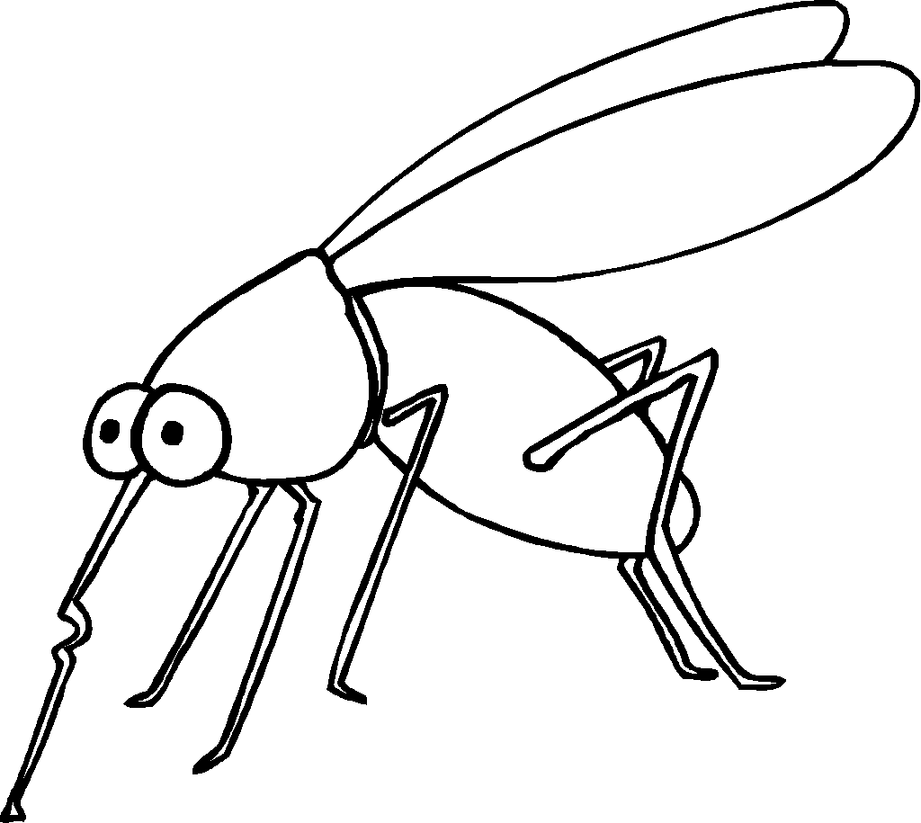 funny fly insects coloring pages - photo#43