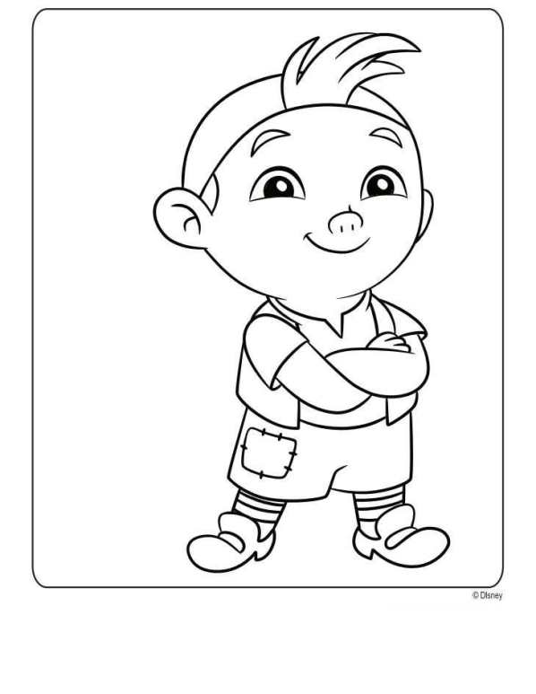 n 9 coloring pages of jake and the never