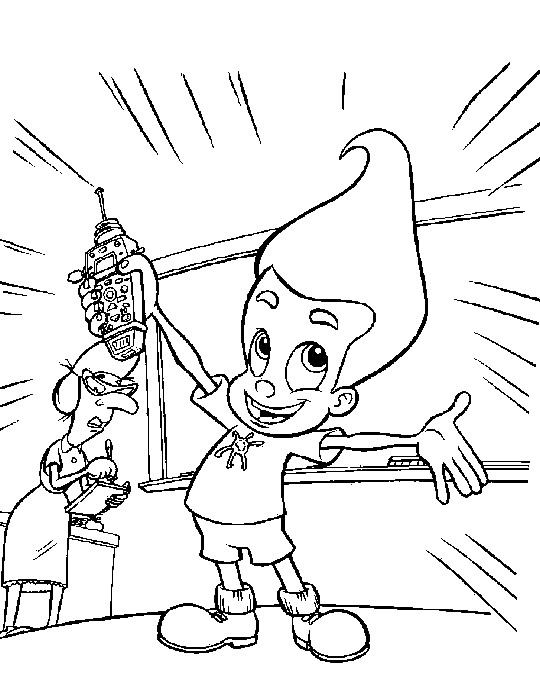 newtron coloring pages - photo#33