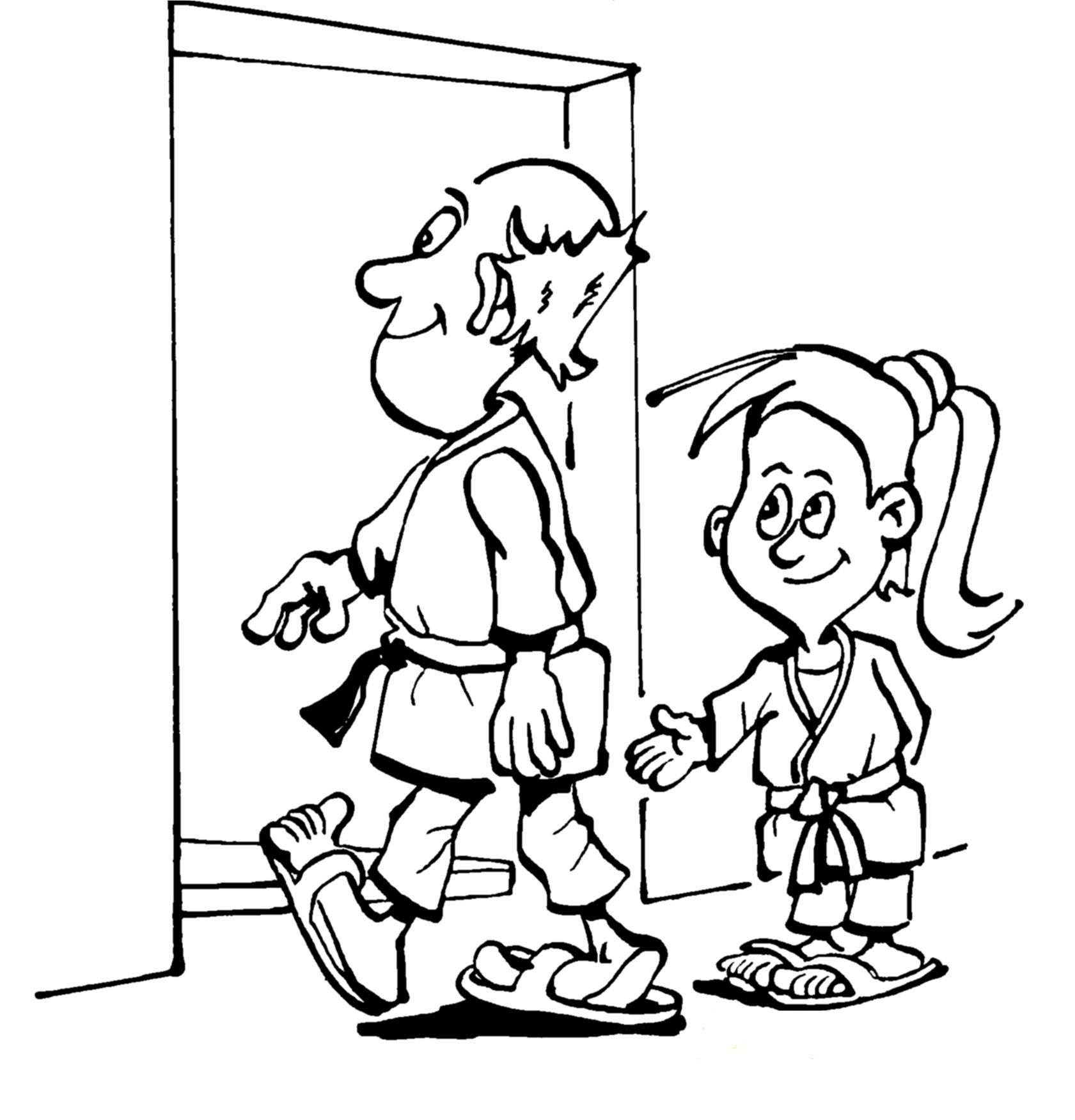 childrens coloring pages for respect - photo#4