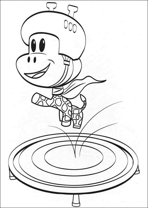 julius jr printable coloring pages - photo#29