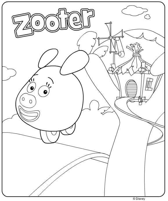 7 jungle junction coloring pages - Jungle Junction Coloring Pages