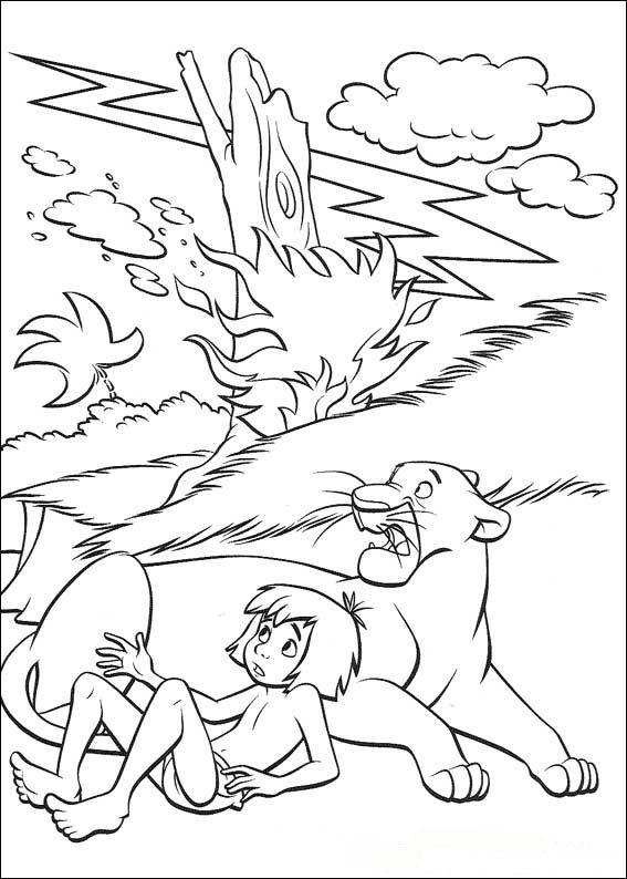 Kids-n-fun.com   Coloring page Jungle Book Jungle Book