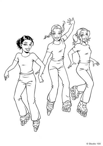 n 51 coloring pages of k3