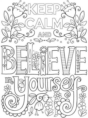kidsnfun  20 coloring pages of keep calm