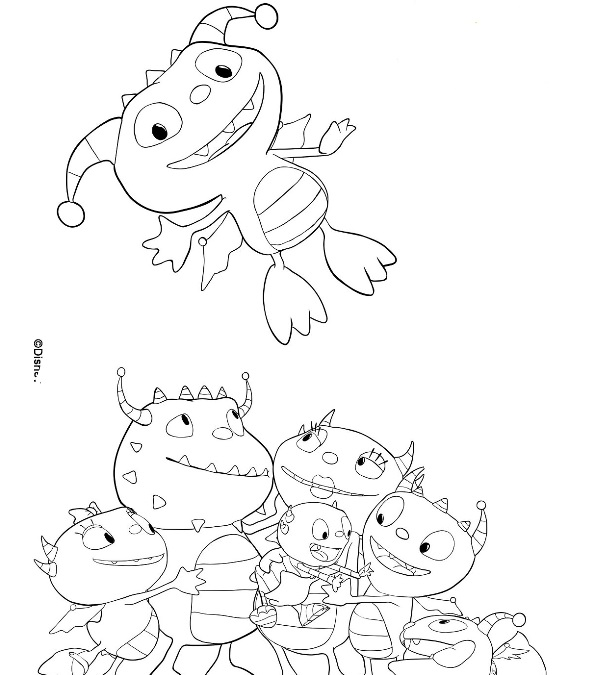 henry wiggle bottom coloring pages - photo#23