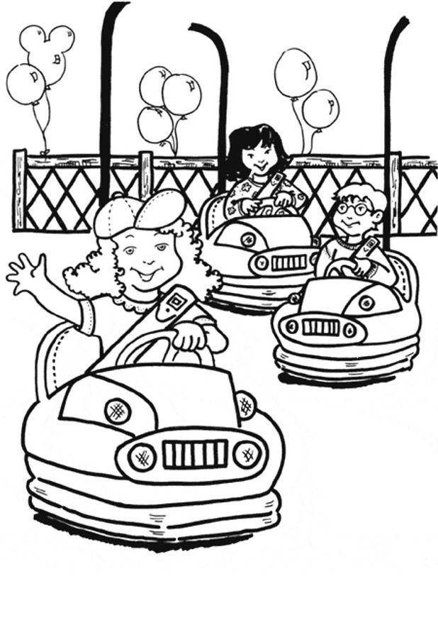 Kids-n-fun.co.uk | 15 coloring pages of Fair