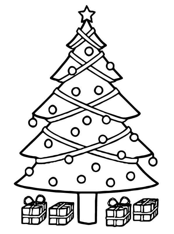 Kerst Kleurplaten Kerstman Kids N Fun Com 12 Coloring Pages Of Christmas Trees To