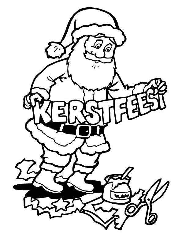 Worksheet. Kidsnfuncom  85 coloring pages of Christmas Santa Claus