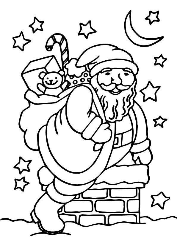 Erfreut Ausmalbilder Santa Und Mrs Claus Zeitgenössisch ...
