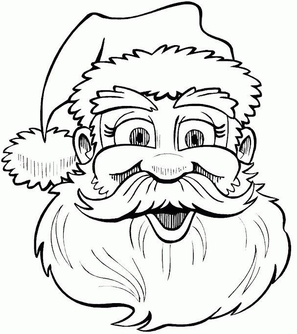 Kidsnfuncom  85 coloring pages of Christmas Santa Claus