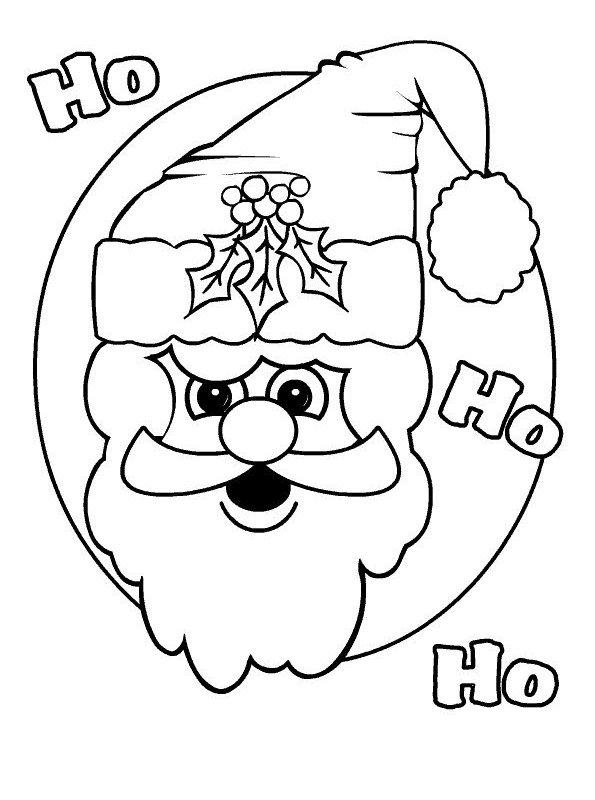 Kleurplaten Populair Kids N Fun Com Coloring Page Christmas Santa Claus