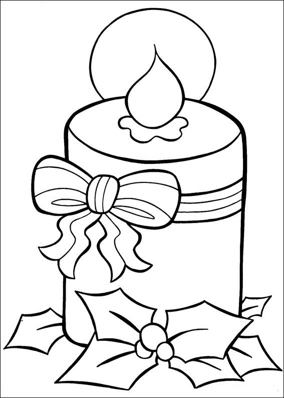 more christmas coloring pages - photo#8