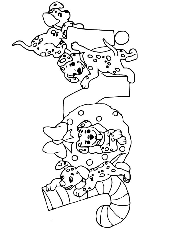 48 Christmas Disney Coloring Pages