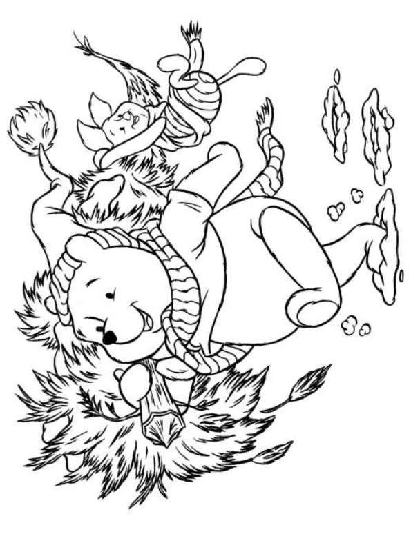 Kidsnfuncom  48 coloring pages of Christmas Disney