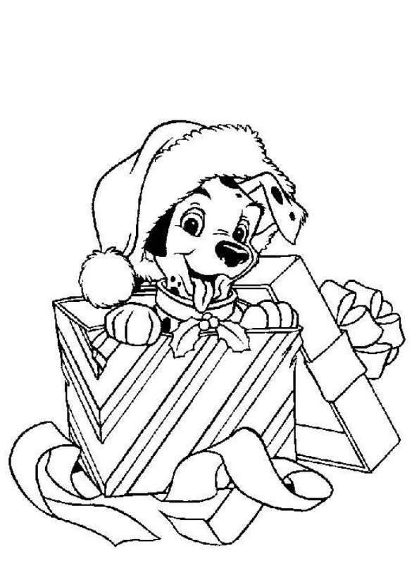 Disney Christmas Coloring Sheets