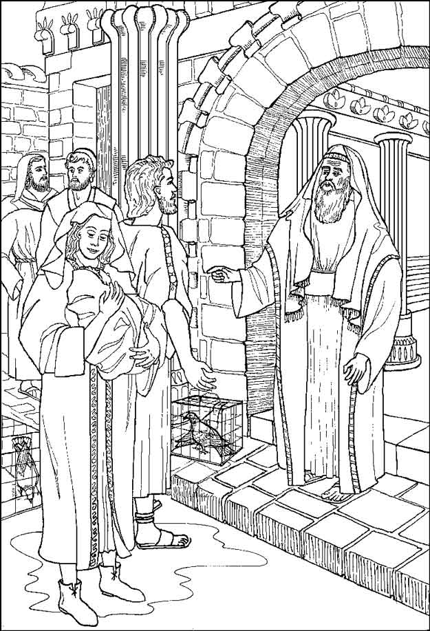 Kids N Fun Co Uk 31 Coloring Pages Of Bible Christmas Story