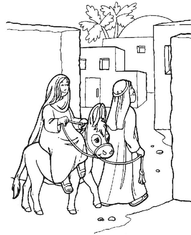 wwwkids n funcouk bible christmas story - Christmas Story Coloring Pages