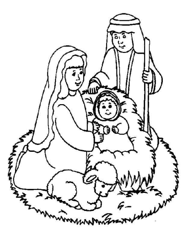 Kids N Fun Co Uk Coloring Page Bible Christmas Story Bible