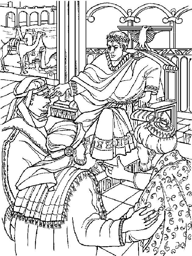 n 31 coloring pages of bible story