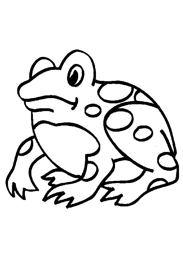 n 34 coloring pages of frogs