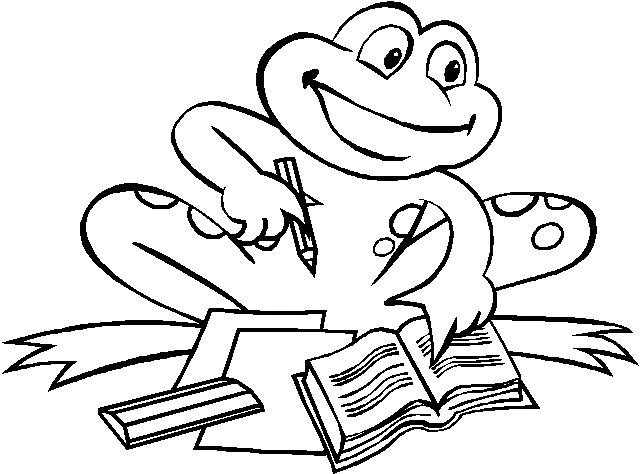 Kids-n-fun.com | 34 coloring pages of Frogs