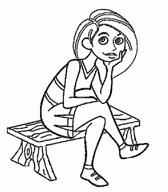 10 kim possible coloring pages