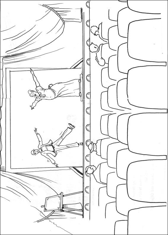 cinemas coloring pages - photo #9