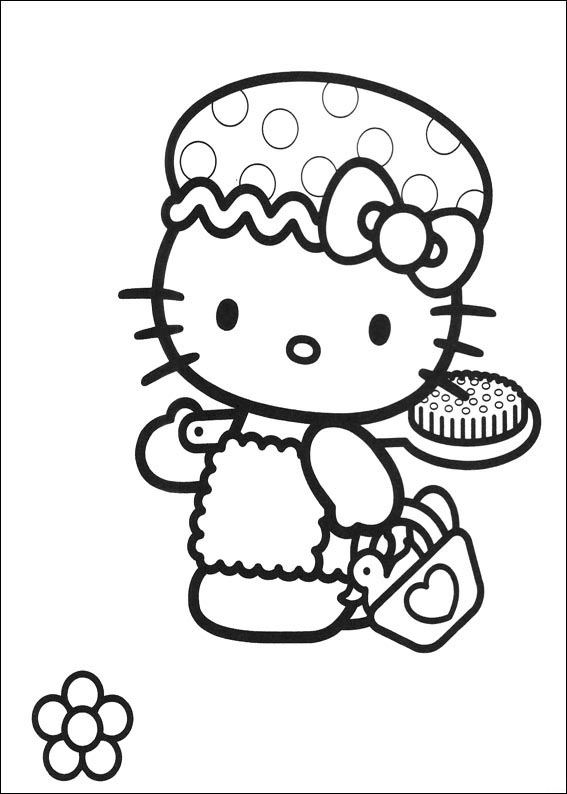Hello Kitty 54 Coloring Pages