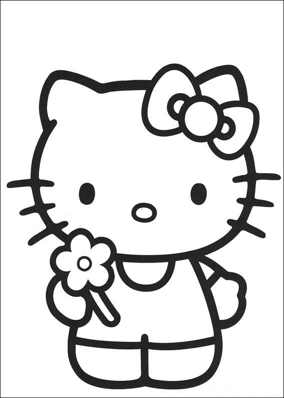 Kids-n-fun.com   Coloring page Hello Kitty Hello Kitty