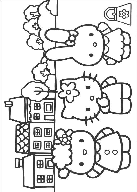 kids-n-fun | coloring page hello kitty hello kitty