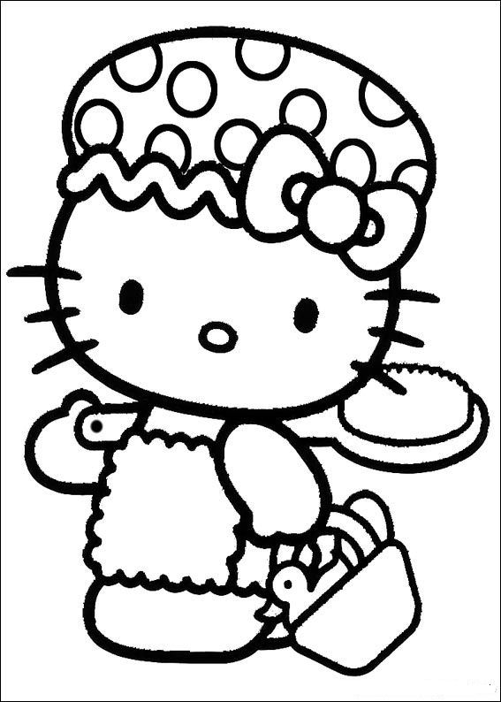 kids-n-fun | coloring page hello kitty hello kitty