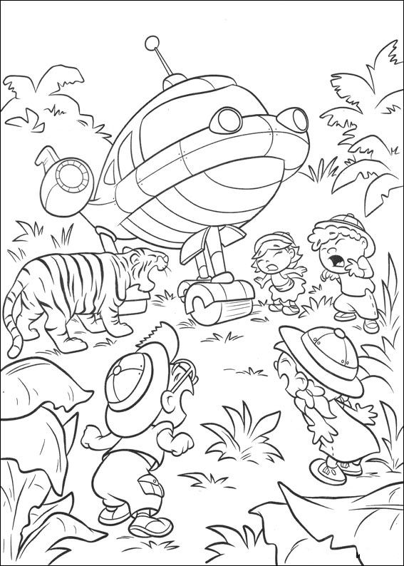 Kids-n-fun.com | All coloring pages about TV