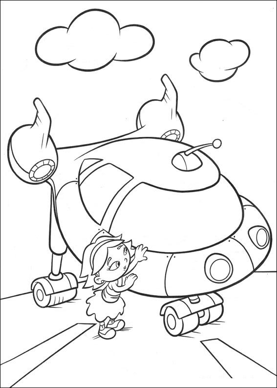 Kids-n-fun.com | 27 coloring pages of Little Einsteins