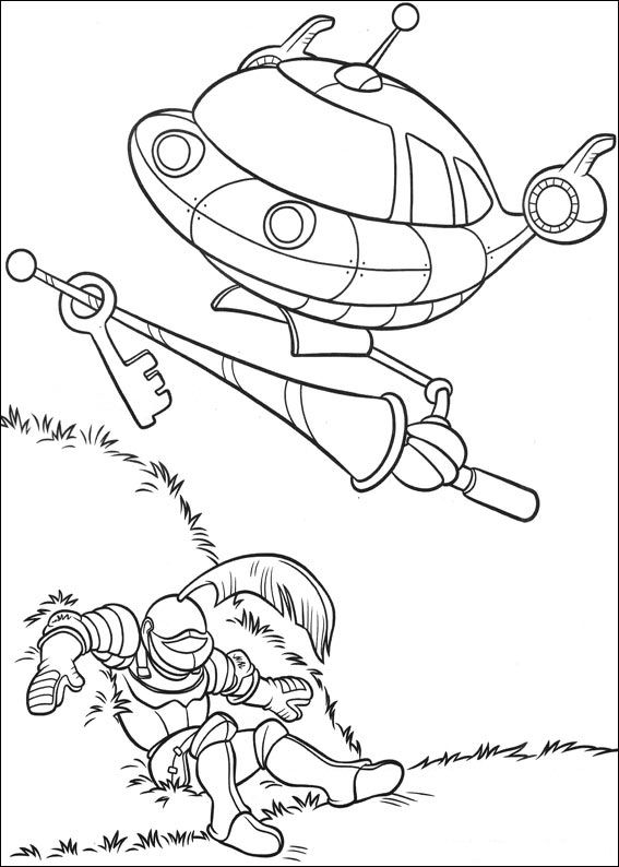 Kids-n-fun.co.uk | 27 coloring pages of Little Einsteins