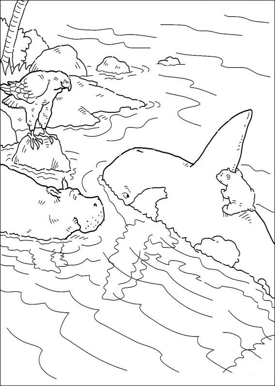 Kids N Fun Com 38 Coloring Pages Of Lars The Little